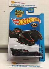 Batmobile #62 * Black w/ red Tampo * 2013 Hot Wheels * NA11