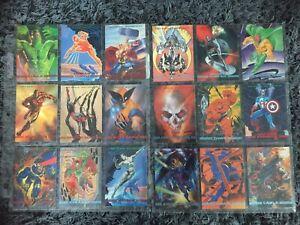 Marvel Comics Marvel Masterpieces 2, 1993 Trading Cards Full Set