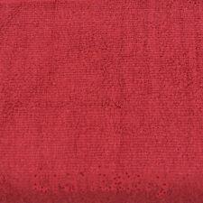 Bamboo Cotton Bath Set - 1 Set (Washcloth, Hand Towel, Bath Towel) Cranberry