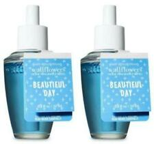 Bath & Body Works BEAUTIFUL DAY Wallflower Fragrance Refill Bulbs x 2 Lot