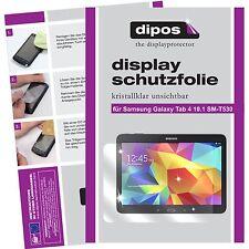 2x Samsung Galaxy Tab 4 10.1 Protector de Pantalla transparente