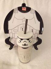 Star Wars Stormtrooper Melamine Plastic Dinner Plate W/ Tumbler Cup Child Gift