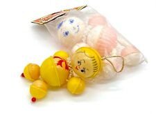 Vintage 1950's celluloid crib toys made in Hong Kong - lot of 2
