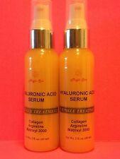 2x2oz-Hyaluronic-Acid-Serum-Cream-Paraben-FREE-Matrixyl-3000-Collagen-Vitamin-C
