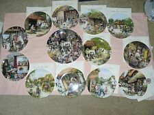 13 Royal Doulton/Susan Neale limited ed plates: Old Country Crafts *COLLECT WR5