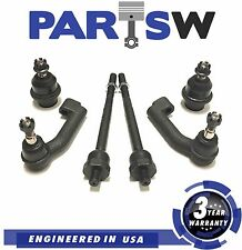 6 Pc New Suspension Kit for Ford Expedition and F-150 Inner & Outer Tie Rod Ends