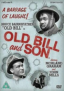 Old Bill and Son DVD Bruce Bairnsfathers - Morland Graham - John Mills Movie