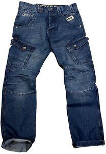 Hommes Combat Jean,Peviani Rock Star Jeans Premium,Hip Hop Skate G Indigo Urban