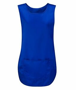 Uneek Premium Tabard Apron With Pocket Cleaning Catering Kitchen Health Care
