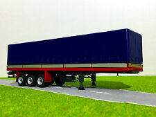 WSI TRUCK MODELS,CLASSIC CURTAINSIDE TRAILER 3 AXLE,1:50