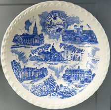 TALLAHASSEE Vintage Melinda Blue Collector's Plate*Vernon Kilns Pottery