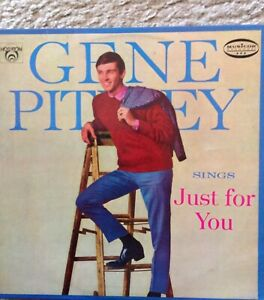 GENE PITNEY SINGS JUST FOR YOU  LP RECORD