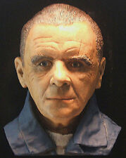HOPKINS as HANNIBAL LECTER life size Color Horror Bust