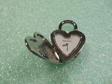 NEW Return to Tiffany Swiss Heart Padlock Watch Pendant 4 Necklace Bracelet