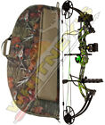 """Fred Bear Cruzer G2 Bow Moonshine Toxic LH Package 5-70# 12-30"""" With Case"""