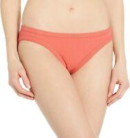 Seafolly Women's 174896 Inka Rib Hipster Bikini Bottom Swimwear Size 4