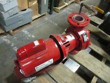 Bell Amp Gossett E 60 Pump E610s Size 2x525 120gpm 9ft Head 12hp Used