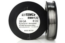 TEMCo Kanthal A1 wire 28 Gauge 8 oz (1304 ft) Resistance AWG A-1 ga