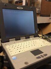 "ITRONIX GOBOOK III Pentium M 12"" TouchScreen Laptop w/1.8 GHz 512 Mb  power bios"