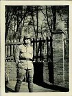 Japan Army old photo Imperial 1942 Pacific War Military Soldier gate Brick