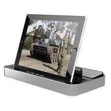 iPega Multi-Function Charger Dock Mount Holder & Speaker For iPad 3 4 Air Mini