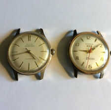 Vintage ELGIN GF Sportsman 17J & BENRUS 3 Star 25J Self Winding WRIST WATCH LOT