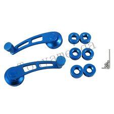 BLUE 2 BILLET ALUMINUM WINDOW CRANK HANDLE WINDER FOR TRUCK/CAR PICKUP DOOR