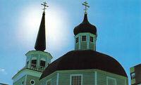 Postcard Russian Church Sitka Alaska