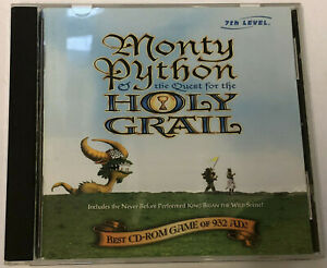 MONTY PYTHON QUEST FOR THE HOLY GRAIL - PC CD ROM With Booklet