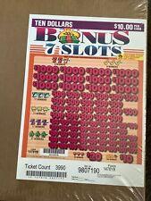 New ListingBonus 7 Slots $10 pull tabs (profit 6,020)