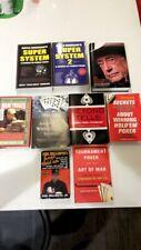 Texas Holdem Poker Books-Lot of 9