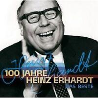 """HEINZ ERHARDT """"100 JAHRE... DAS BESTE"""" 2 CD NEU"""