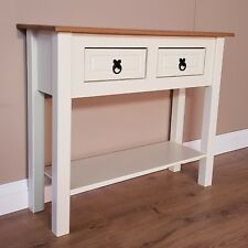Mercers Furniture® Corona Painted 2 Drawer Console Table