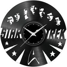 Orologio disco vinil clock orologio da parete Star trek