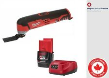 New Milwaukee 2426-21 M12 Cordless Multi Tool Kit Battery & Charger