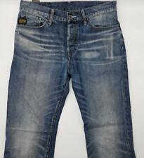 G-Star W32 L31 blau Herren Designer Denim Jeans Hose Vintage Retro Mode Vintage