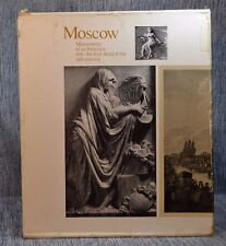 2 Vols Moscow Monuments of Architecture 18th-19th Century Cloth Hardbacks 1975