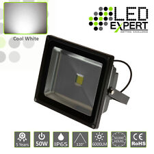 LED Expert 50w LED Flood Light Security 5 Year Warranty IP65 Cool White CE RoHS