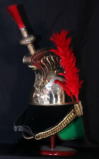 Brass French Cuirassier Officer's Helmet Napoleon Style Helmet w Stand