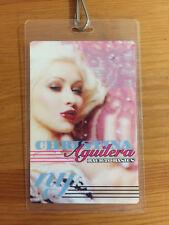 Christina Aguilera Back To Basics Backstage Pass Madison Square Garden