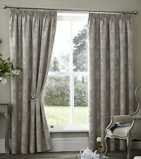 Curtina Palmero Scroll Thermal Blackout Curtains Taupe 90 X 90 Ss05 38