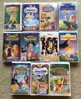 Walt Disney Masterpiece Collection VHS Tapes Lot Of 11 Vintage Movies picture
