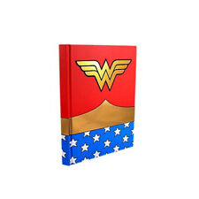 Wonder Woman Uniform Red Hard Cover Journal 6in x 8 in Hard Cover Notebook Dc