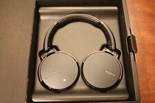 GENUINE Sony Extra Bass Bluetooth Wireless Headphone MDR-XB950BT Black FAST SHIP