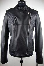 MICHAEL KORS Lederjacke Damen Jacke Lammnappa Leather Jacket Gr.L NEU mit ETIKET