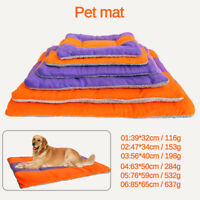 Universal Pet Dog Cat Bed Puppy Cushion House-Soft Warm Heat Kennel Mat Blanket