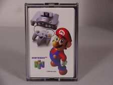 N 64 VINTAGE NINTENDO PLAYING CARDS PROMO DISPLAY RARE MARIO ZELDA