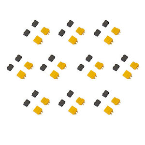 Amass XT60+ Male and Female Connector Plug for Battery ESC & Charge Lead 10 Pair