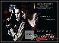 Sweeney Todd The Demon Barber Of Fleet Street 5  Movie Posters Musicals
