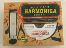 Harmonica Mud Puddle Rock N Roll Swan Book Kit David Harp How to Play Ages 8+